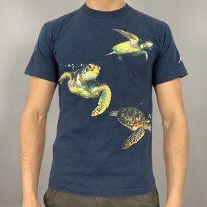 vintage super cool sea turtles tee